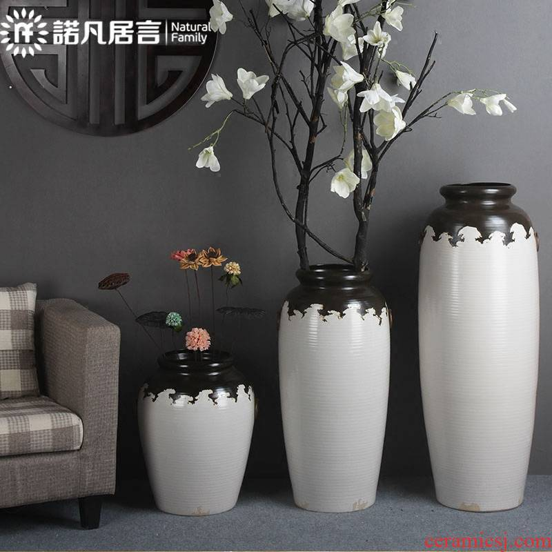 Creative ceramic up of large vase decoration to the hotel club stores garden furnishing articles between example household