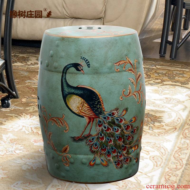 American ceramic restoring ancient ways in shoes who floor furnishing articles Chinese creative room living room who decoration home decoration
