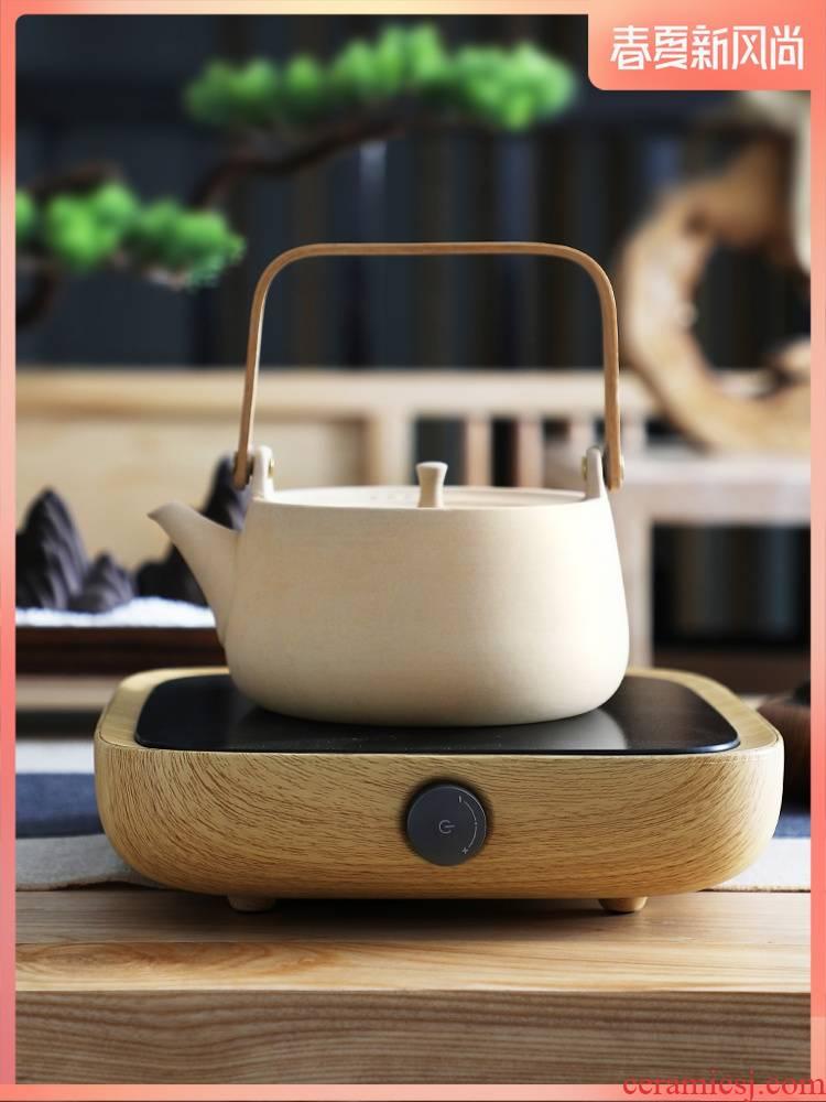 The Earthenware cooking pot kettle coarse clay POTS high - temperature kung fu tea set electric TaoLu tea stove permeating the pumping unit