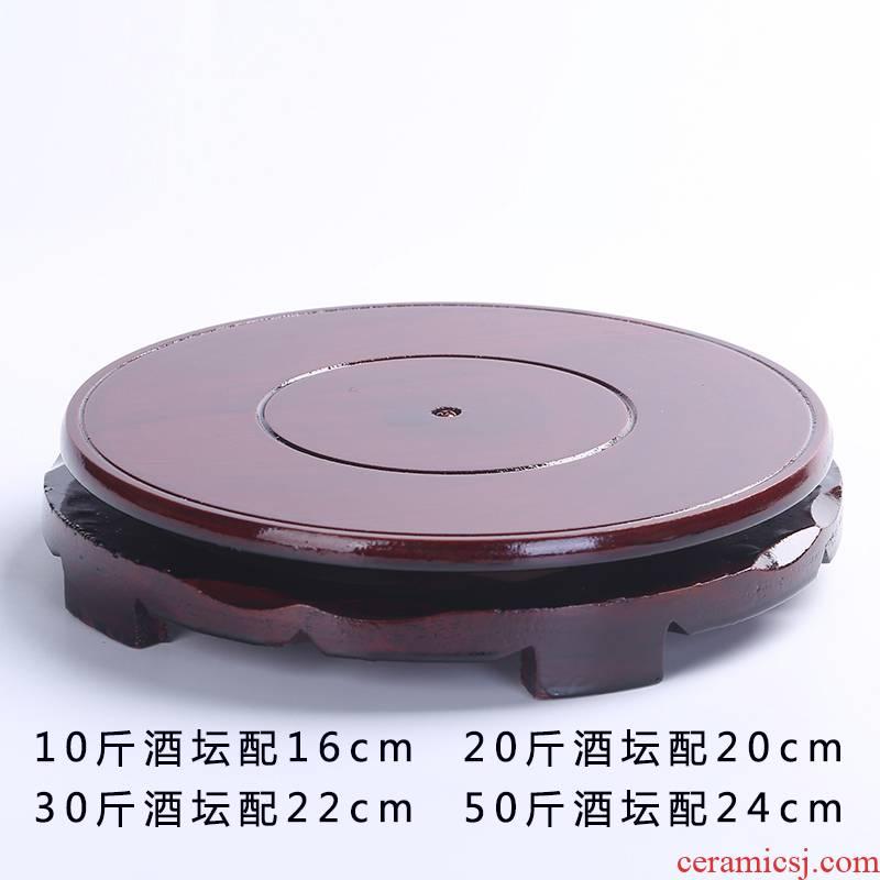 The Tap ceramic base ceramic wooden frame