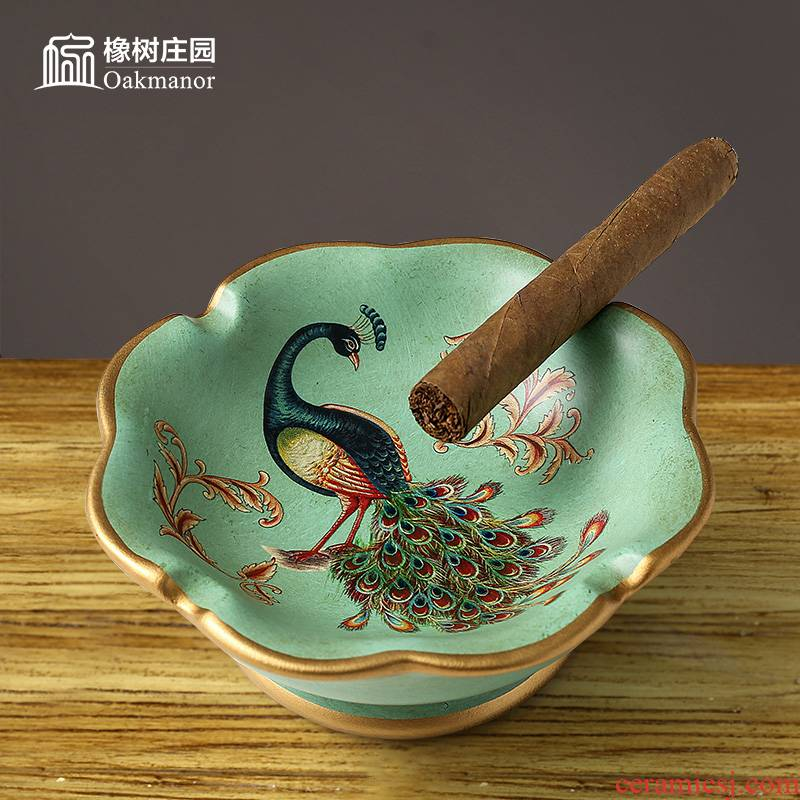 European sitting room tea table ashtray furnishing articles individuality creative trend restoring ancient ways of household ceramic ashtray adornment ornament