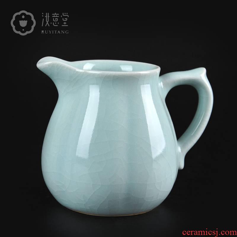 Your up porcelain tea sea ceramics fair keller points tea is tea accessories fair fair cup pot pour GongDaoBei cups