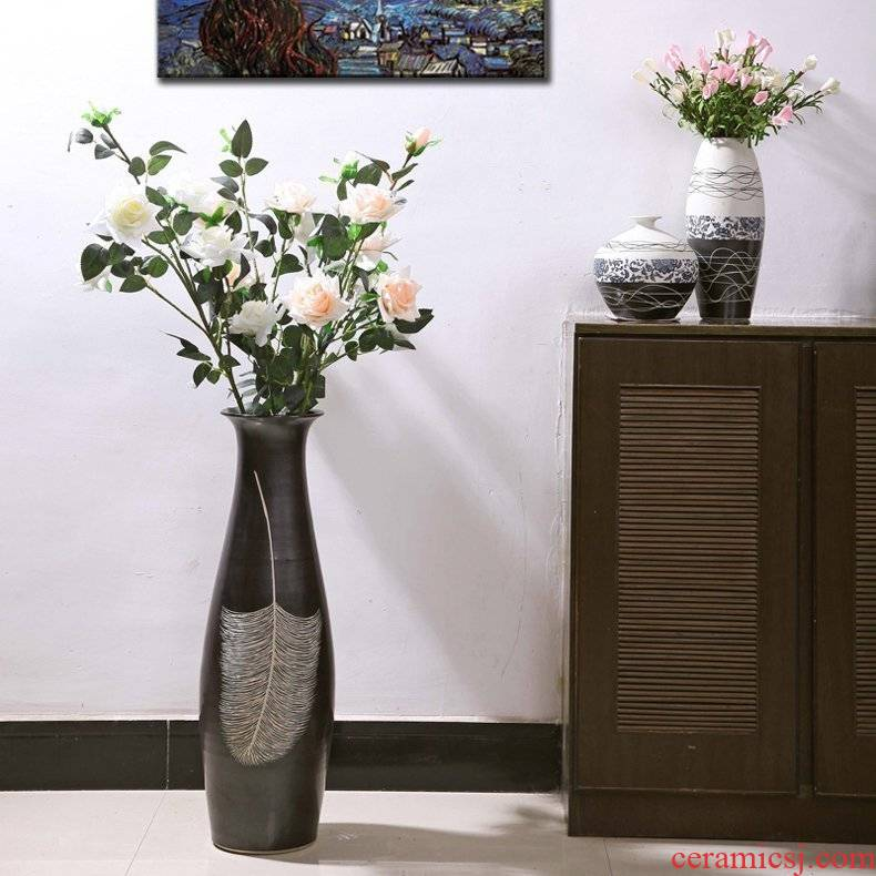 European art ceramics of large vases, jingdezhen I and contracted sitting room porch soft outfit furnishing articles