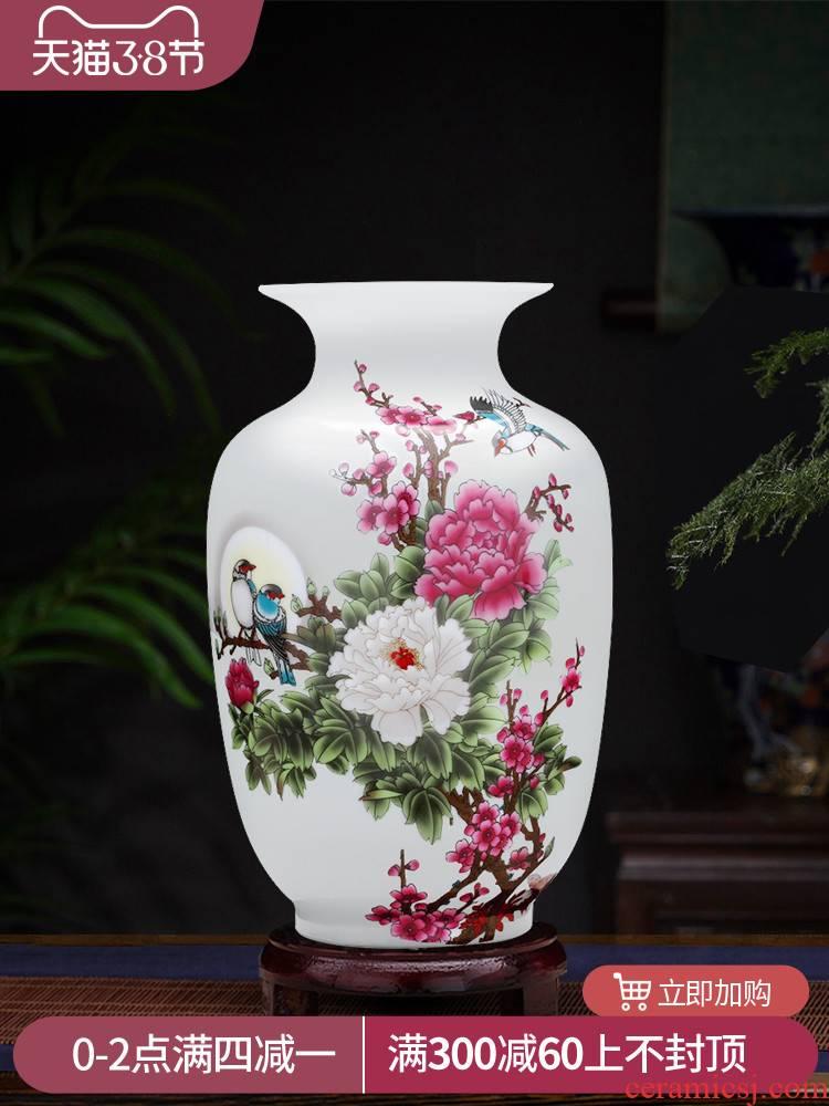 Jingdezhen ceramics floret bottle home furnishing articles flower arranging the sitting room TV ark, wine adornment handicraft decoration