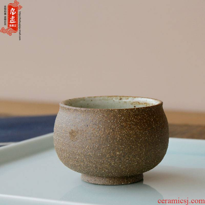 Jingdezhen ceramic cups tea master cup checking pottery plain tea tea fullness creative tea house furnishing articles