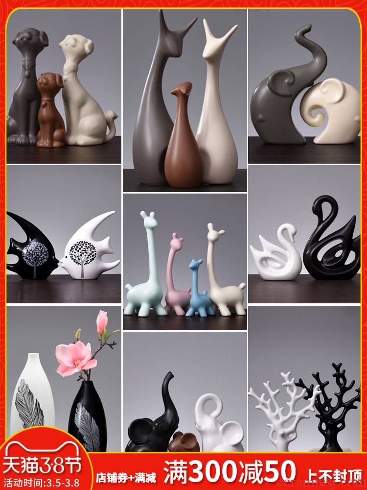 Nordic furnishing articles, household act the role ofing is tasted, the sitting room TV ark, wine ark, adornment furnishing articles of modern bedroom decorate ceramic decoration