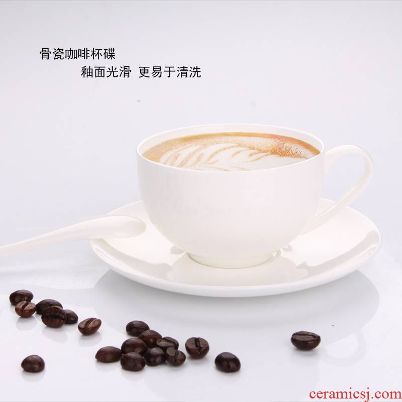 Tangshan ipads China suit contracted afternoon tea cups can be customized logo coffee spoon, Korean pure color Mid - Autumn festival