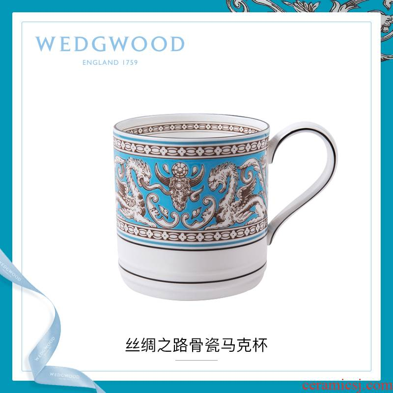 WEDGWOOD waterford WEDGWOOD silk road ipads China mugs European - style coffee cup cup household glass cup