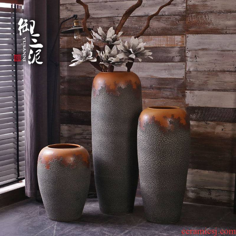 Dry flower decoration vase furnishing articles furnishing articles Nordic creative home, the contributor of large sitting room window center hall hotel POTS