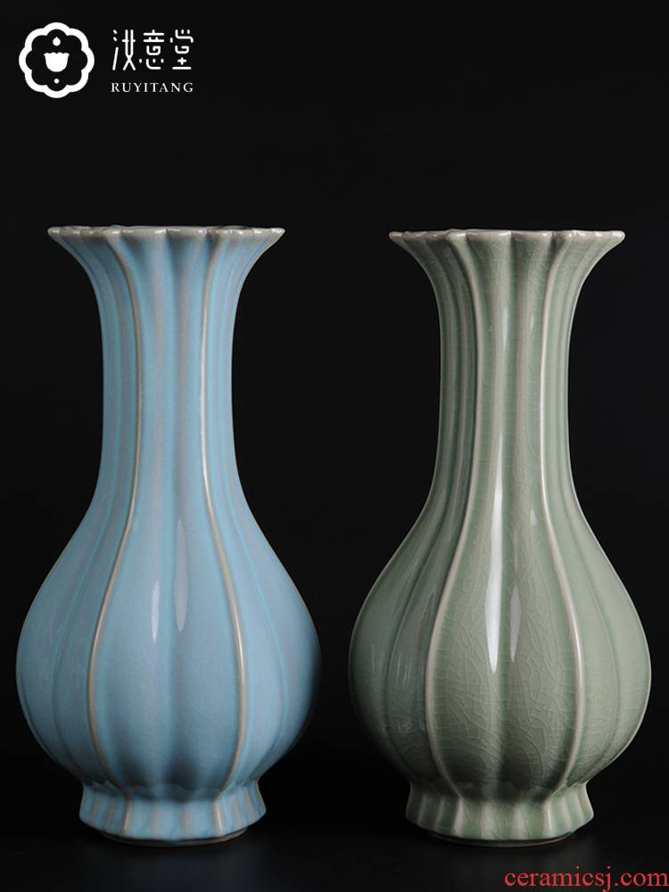 Archaize your up porcelain arts and crafts art ceramic vases, Chinese contracted household adornment furnishing articles sitting room decoration
