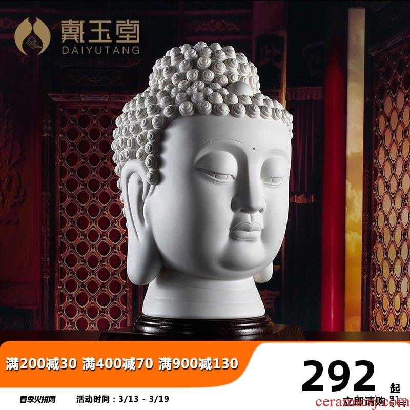 Yutang dai beadle furnishing articles to the as has great day figure Thai Buddha club hotel business gifts ceramic arts and crafts