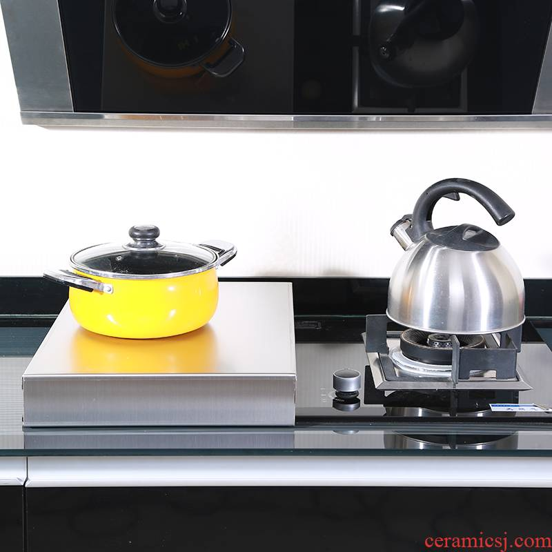 304 stainless steel liquefied natural gas (LNG) gas buner induction cooker base table hearth plate kitchen an artifact