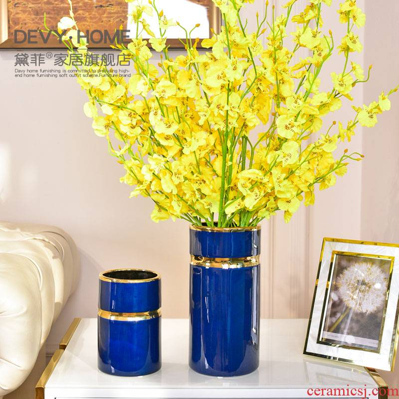 Modern furnishing articles contracted sitting room light much creative ceramics vases, flower arranging TV ark, porch tea table table decorations