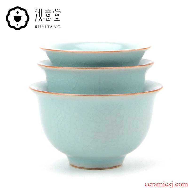Your up porcelain cups master cup ceramics single CPU open piece of kung fu tea set for its ehrs sample tea cup fragrance - smelling cup a cup of tea
