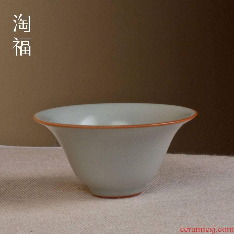 Jingdezhen your up ceramic cups a single master sample tea cup cup single CPU kung fu tea set your porcelain cups of tea