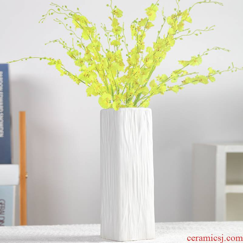 I and contracted ceramic vases, small pure and fresh and hydroponic ceramic creative grey Nordic household decorates sitting room furnishing articles