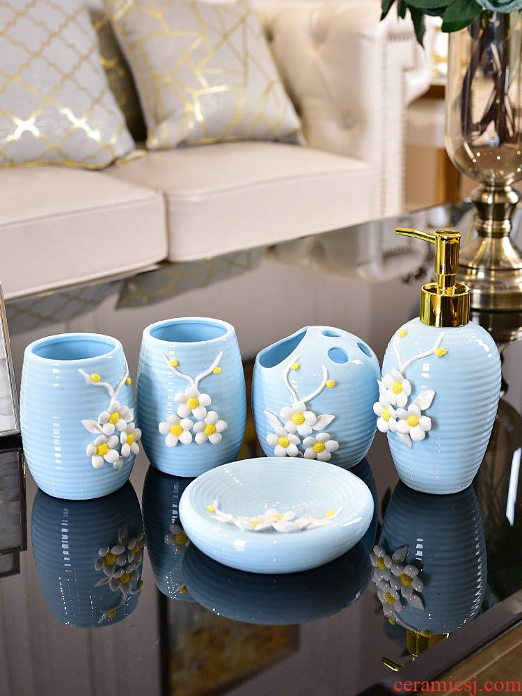I and contracted Nordic ceramic sanitary ware suit toilet creative gargle suit new girlfriends wedding gift