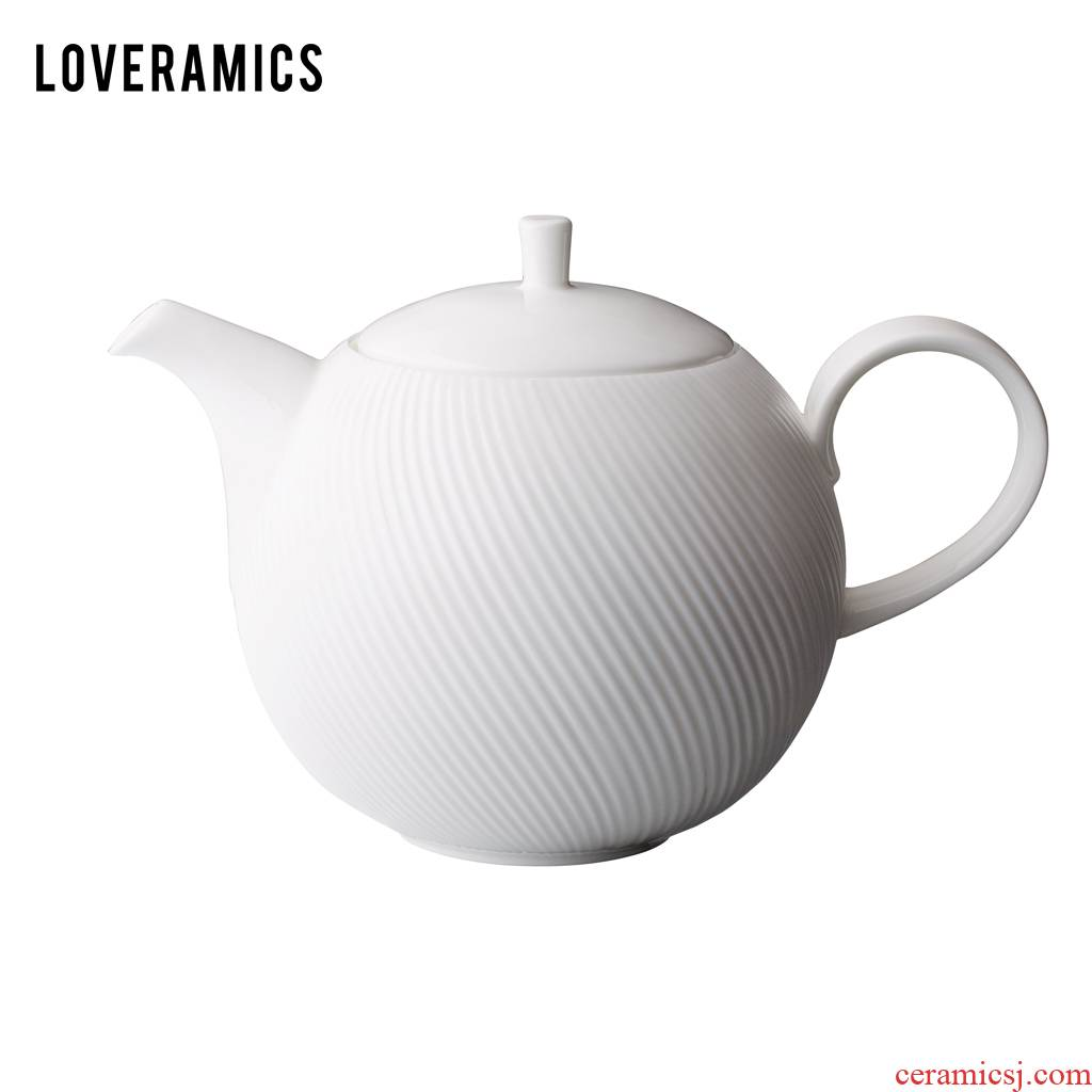 Loveramics love Mrs White jade ipads China 1 l kettle (White)