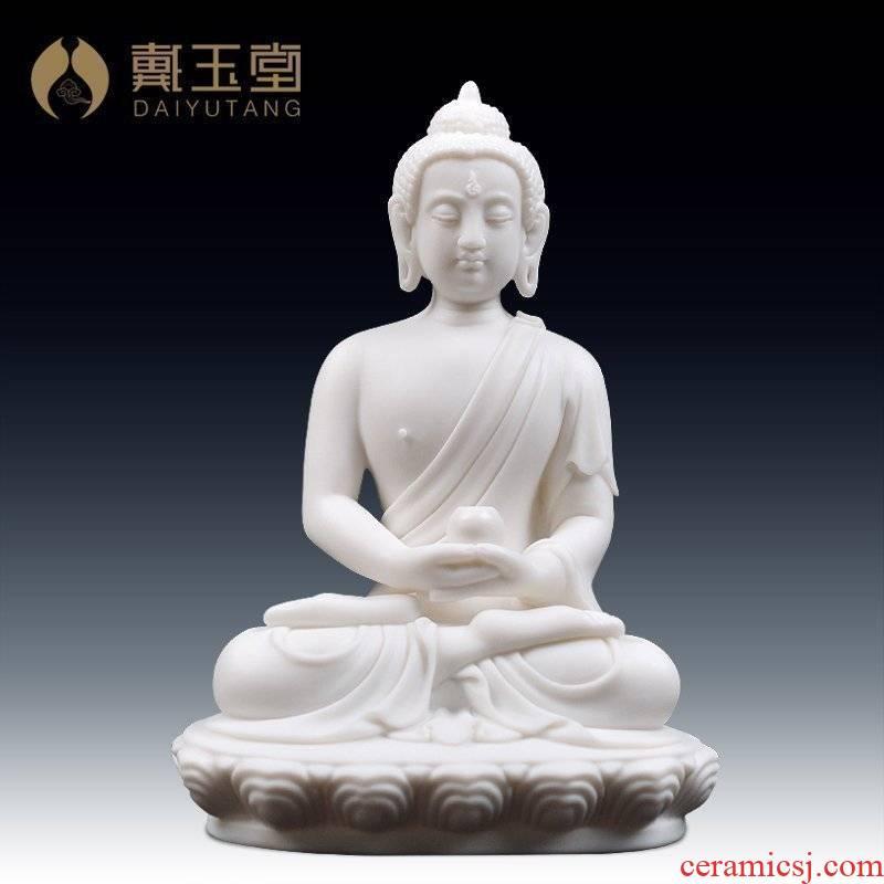 Yutang dai furnishing articles dehua white porcelain ceramic figure of Buddha take Buddha Buddha had/amitabha D46-19