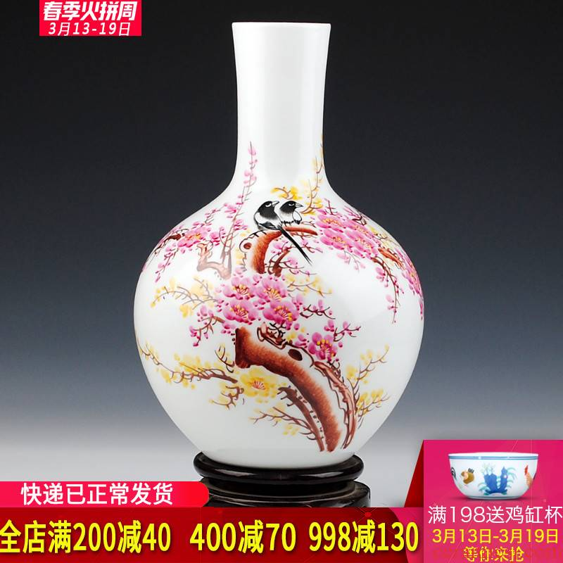 "Jingdezhen ceramics master hu celebrity hand - made ""awakening"" I sitting room is placed"