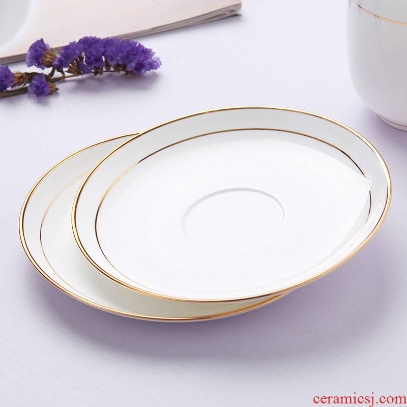 Ipads porcelain saucer jingdezhen porcelain ceramic round up phnom penh office cup insulation mat white cup