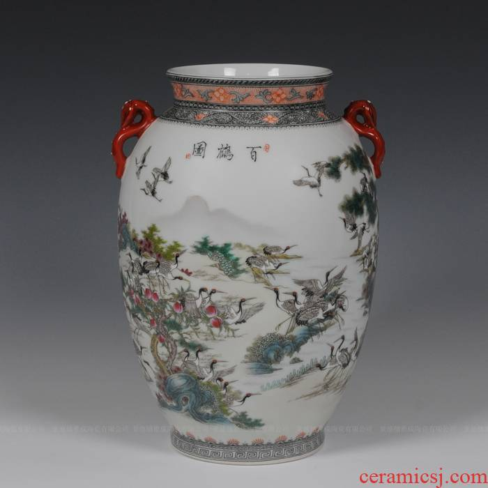 Jingdezhen ceramics Zhang Bingxiang works best idea gourd vases, I and fashionable adornment furnishing articles of handicraft