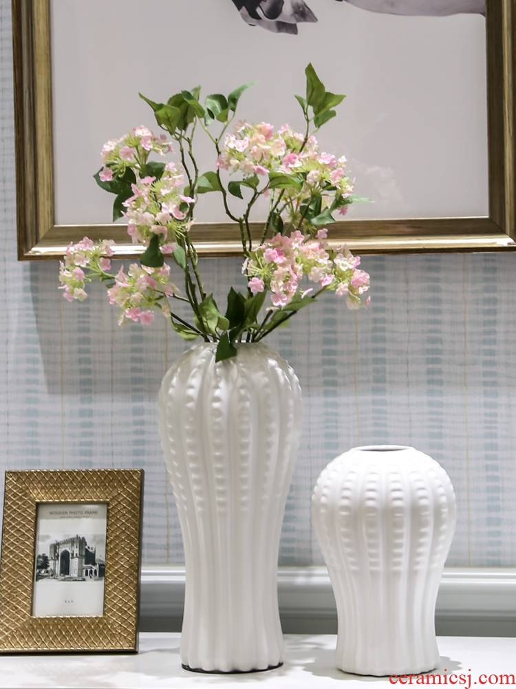 I and contracted mesa vase sitting room creative furnishing articles home decoration ceramic flower arranging flowers, floral arrangements