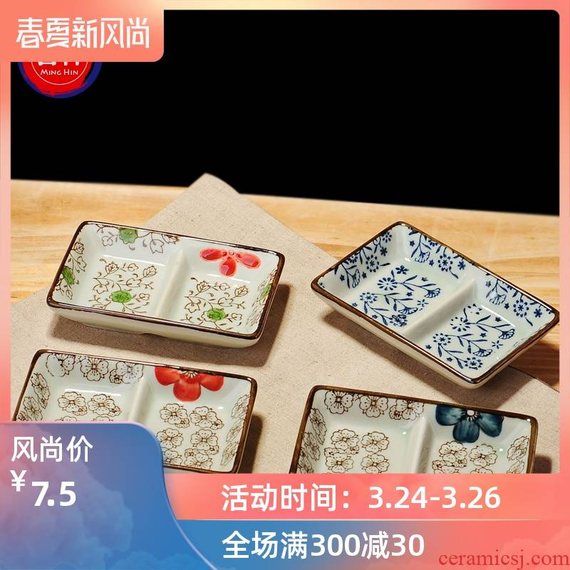 Dip in jingdezhen ceramics flavour dishes taste seasoning sauce dish dish dish dish dish vinegar sauce dish of Japanese Chesapeake