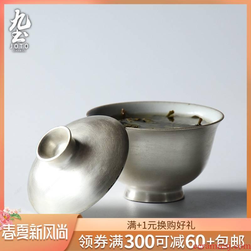 About Nine soil checking silver glaze tureen tea cup Japanese large tea cup of jingdezhen ceramic kung fu tea set to tea cups
