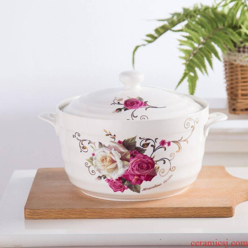 Large capacity ceramic pig oil tank oil can the bottle chilli oil tank altar bean paste pot household kitchen salt sugar pot box