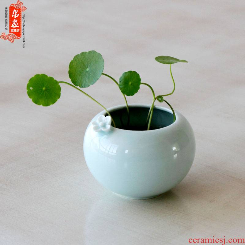 Ceramic floret bottle furnishing articles Nordic living room table hydroponic water raise flower arranging home desktop bedroom adornment originality