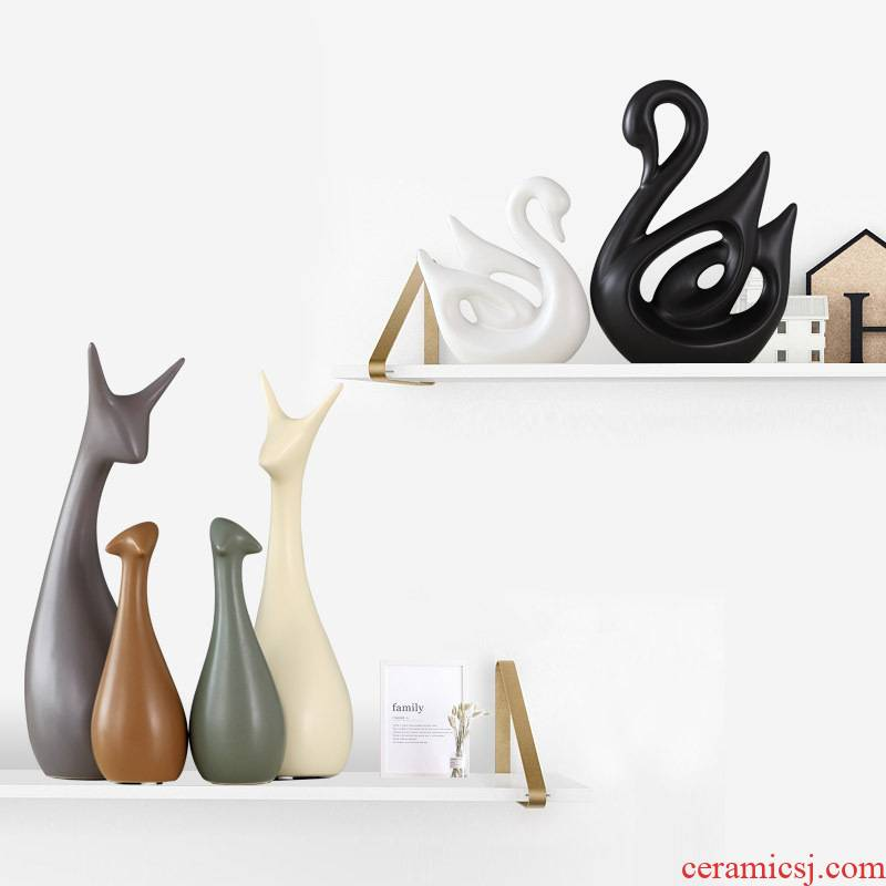 Creative Nordic ceramic household act the role ofing is tasted wine soft adornment bedroom living room partition example room move furnishing articles
