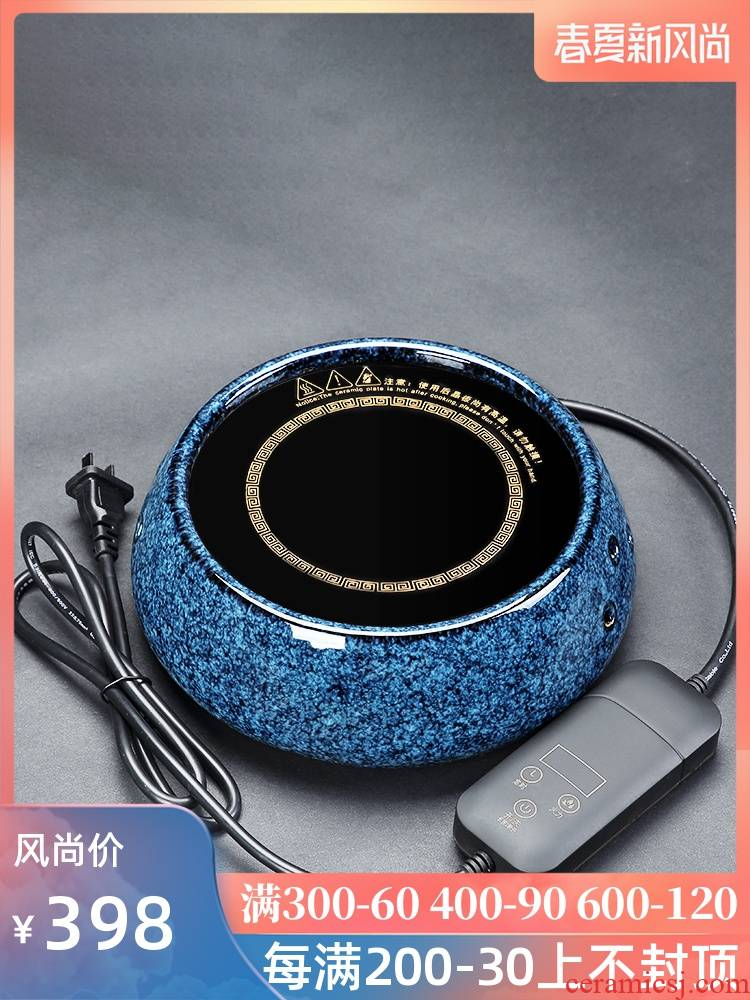 Tang Feng electric TaoLu casing outside the individual household contracted ceramic tea stove can be timed electric boiling tea stove glass of tea