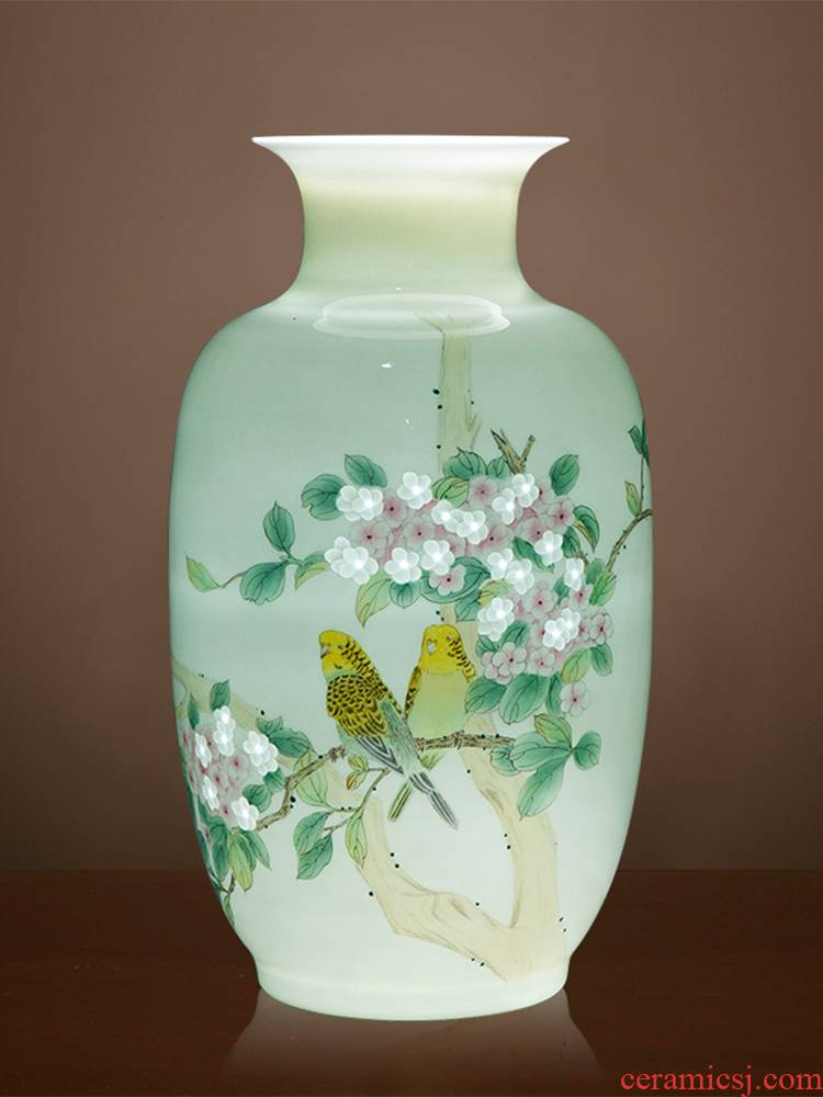 The Master of jingdezhen ceramics vase furnishing articles hand - made pastel Chinese rich ancient frame sitting room adornment ornament gift giving