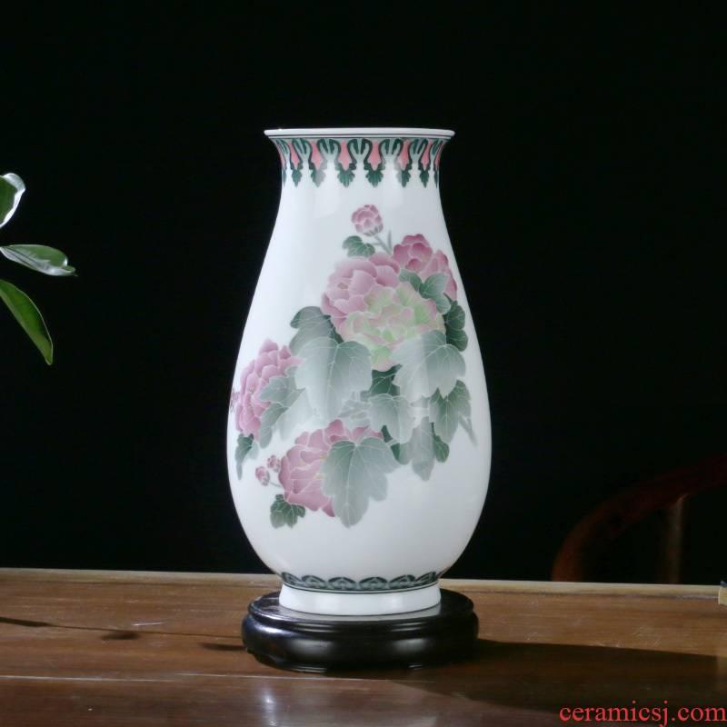 Porcelain good hui ceramic mesa medium vase under the glaze color wine sitting room porch home decoration gift Porcelain