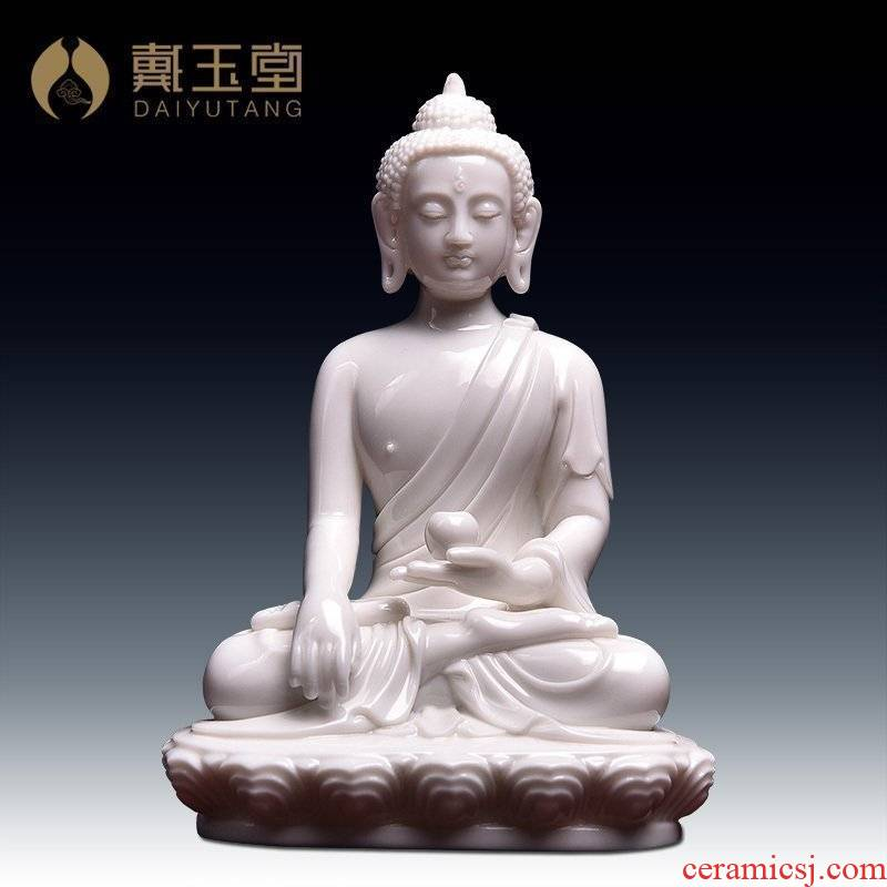 Yutang dai ceramic small figure of Buddha is placed with the Buddha to carry on business travel/Buddha had Buddha D46-16