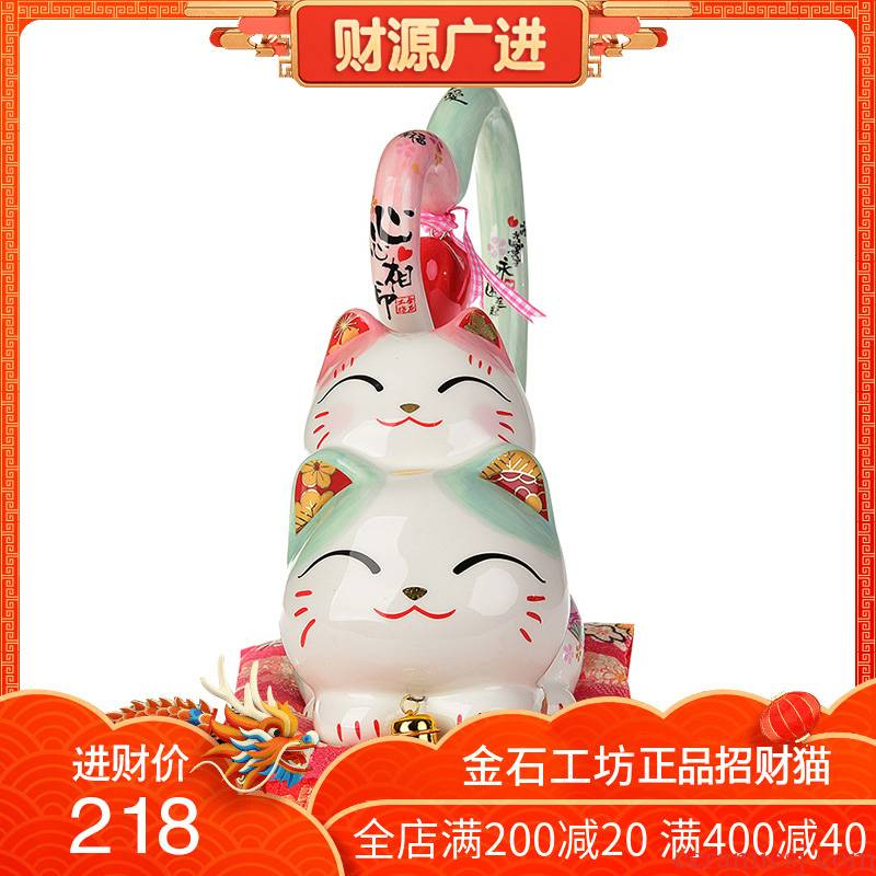 Stone workshop lovers long tail of already plutus cat ceramic furnishing articles wedding gifts creative gift girlfriends girlfriend