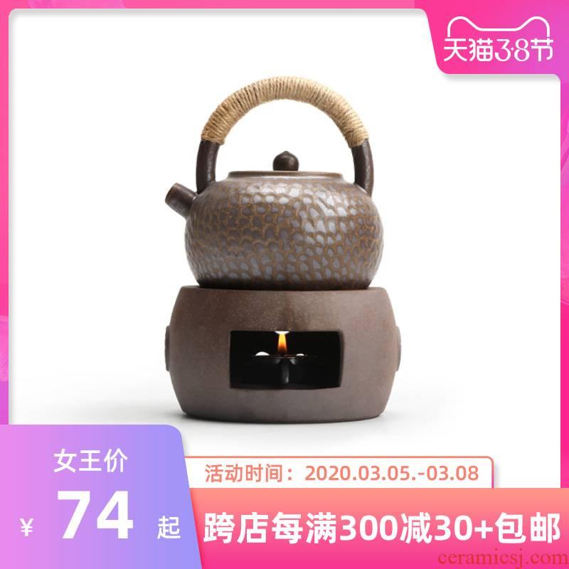 Mr Nan shan Japanese ancient ceramic tea stove temperature glass teapot kung fu tea accessories based heating base