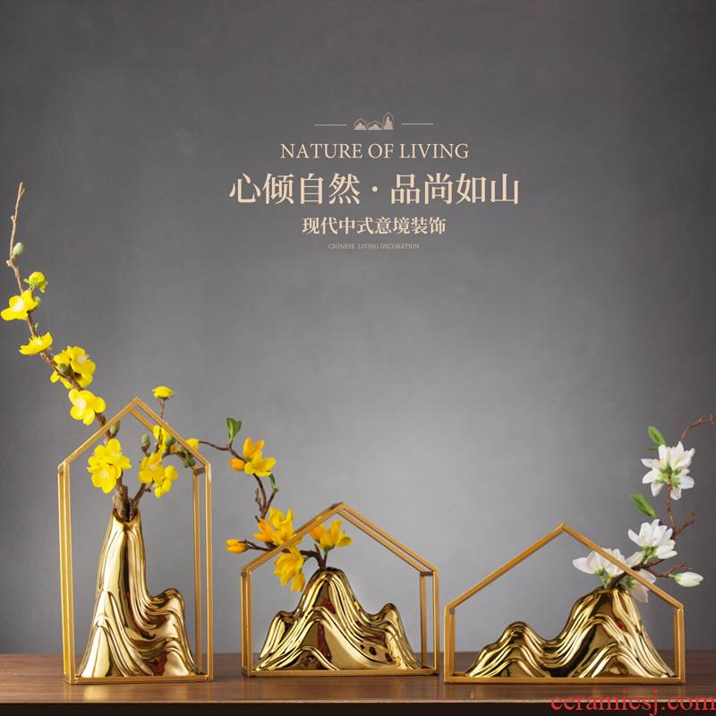 New Chinese style adornment hotel furnishing articles household soft outfit sitting room porch ark decoration is I and contracted creative ceramics