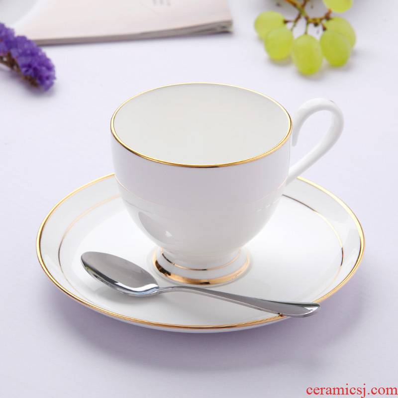 Jingdezhen European - style ipads China afternoon tea set creative household soft outfit up phnom penh ceramic cup coffee cups and saucers send the spoon