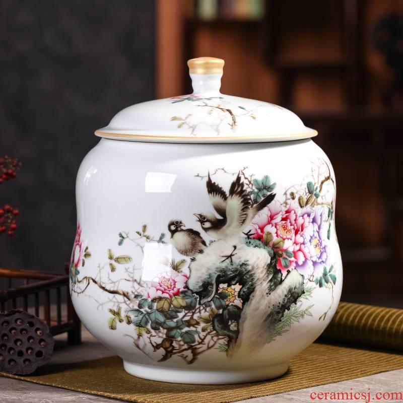 Puer tea cake tea pot pottery clay pot store tea POTS tea tin as cans of purple sand size