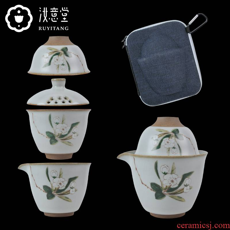 Your up crack cup travel tea set simple portable is suing office ceramic teapot teacup. A pot of two cups