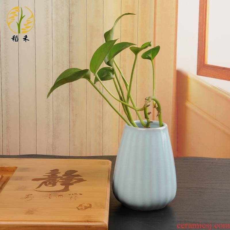 Your up ceramic floret bottle of flower arranging small place Your porcelain porcelain table sitting room adornment porcelain hydroponic flower bottle