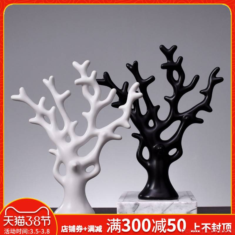Nordic creative furnishing articles, household act the role ofing is tasted wine sitting room adornment ornament wedding gift for furnishing articles ceramic arts and crafts