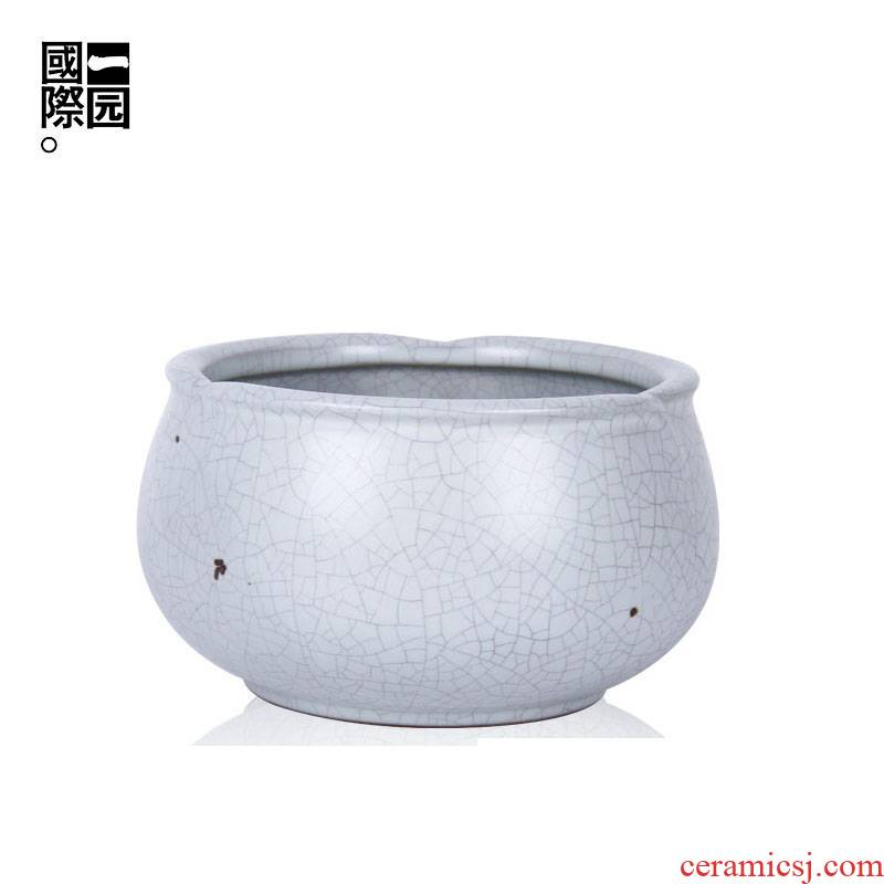 A lotus garden international your up slag washing your porcelain dou imitation song dynasty style typeface your up tea wash to kung fu tea accessories