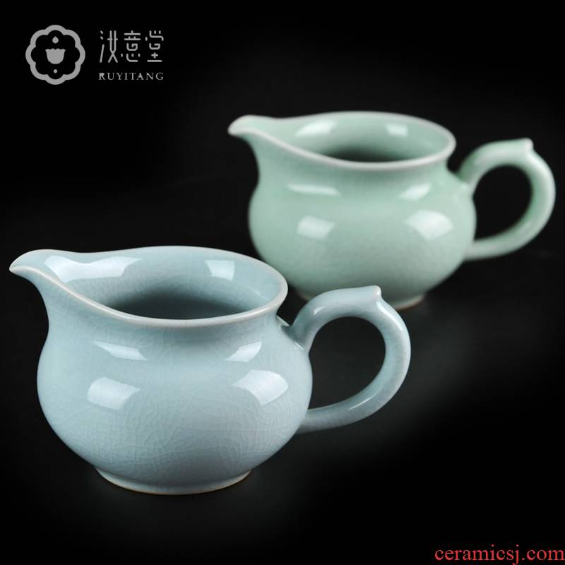 Your up porcelain tea sea ceramics fair keller points tea fair cup kongfu tea accessories GongDaoBei pour tea cups