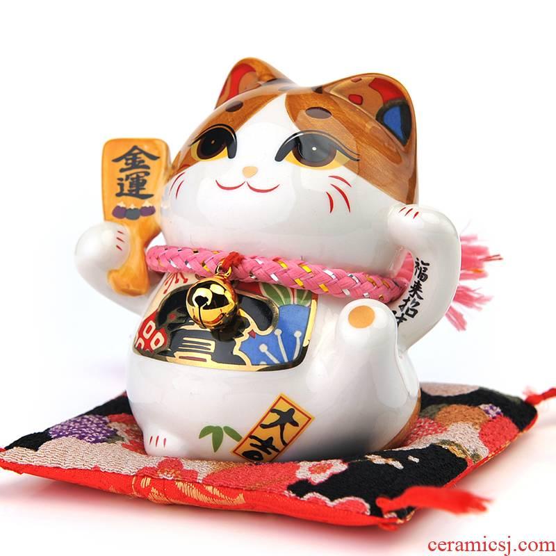 Stone workshop kaiyun plutus cat ceramic mini jar kaiyun to birthday gift car furnishing articles
