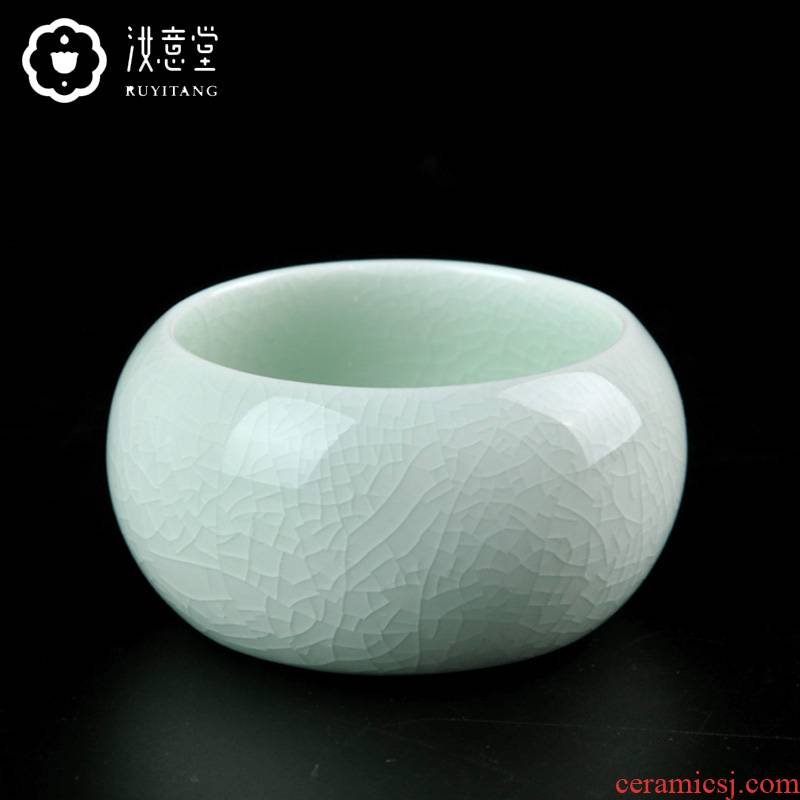 Your up sample tea cup ceramic cups kung fu tea set single CPU master cup Your porcelain tea cups sliced open can be a meditation