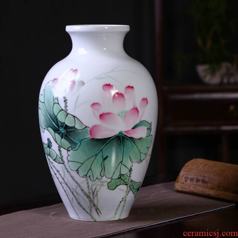 Jia lage jingdezhen ceramic vase sitting room place high - grade ceramic checking antique Chinese I and contracted to restore ancient ways