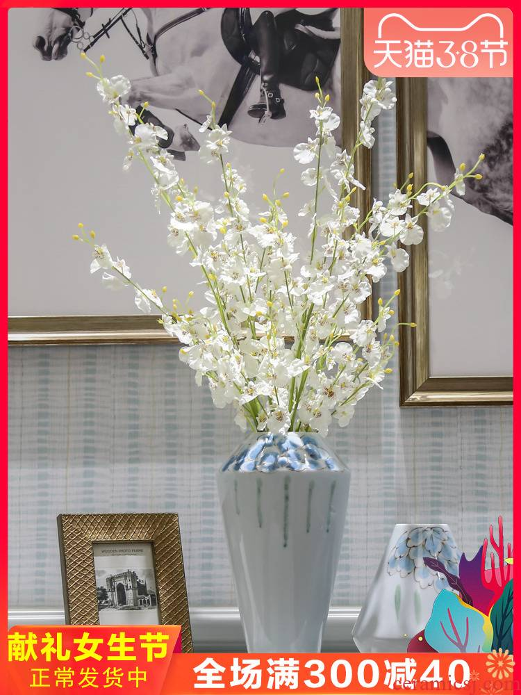 I and contracted ceramic vase furnishing articles sitting room ark, flower vase Nordic creative vase decoration furnishing articles